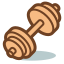 home-dumbbell-icon